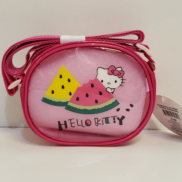 Hello Kitty Watermelon Vinyl Shoulder Pouch