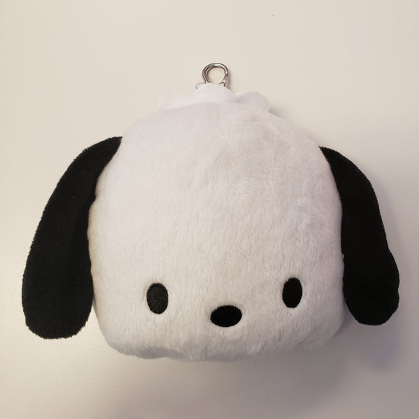 Pochacco Plush Badge Reel