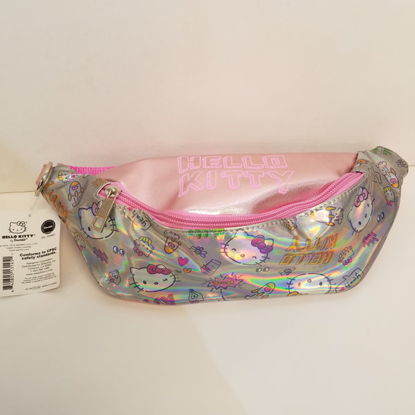 Hello Kitty Aurora Holographic Fanny Pack