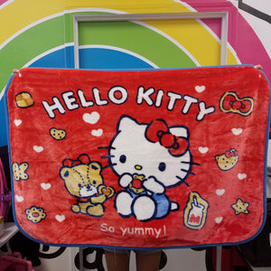 Hello Kitty Red Blanket