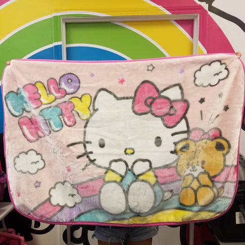 Hello Kitty Pink Blanket