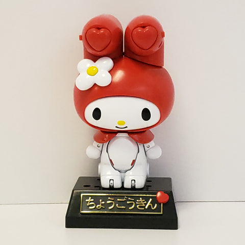 My Melody Chogokin Robot Toy Figure