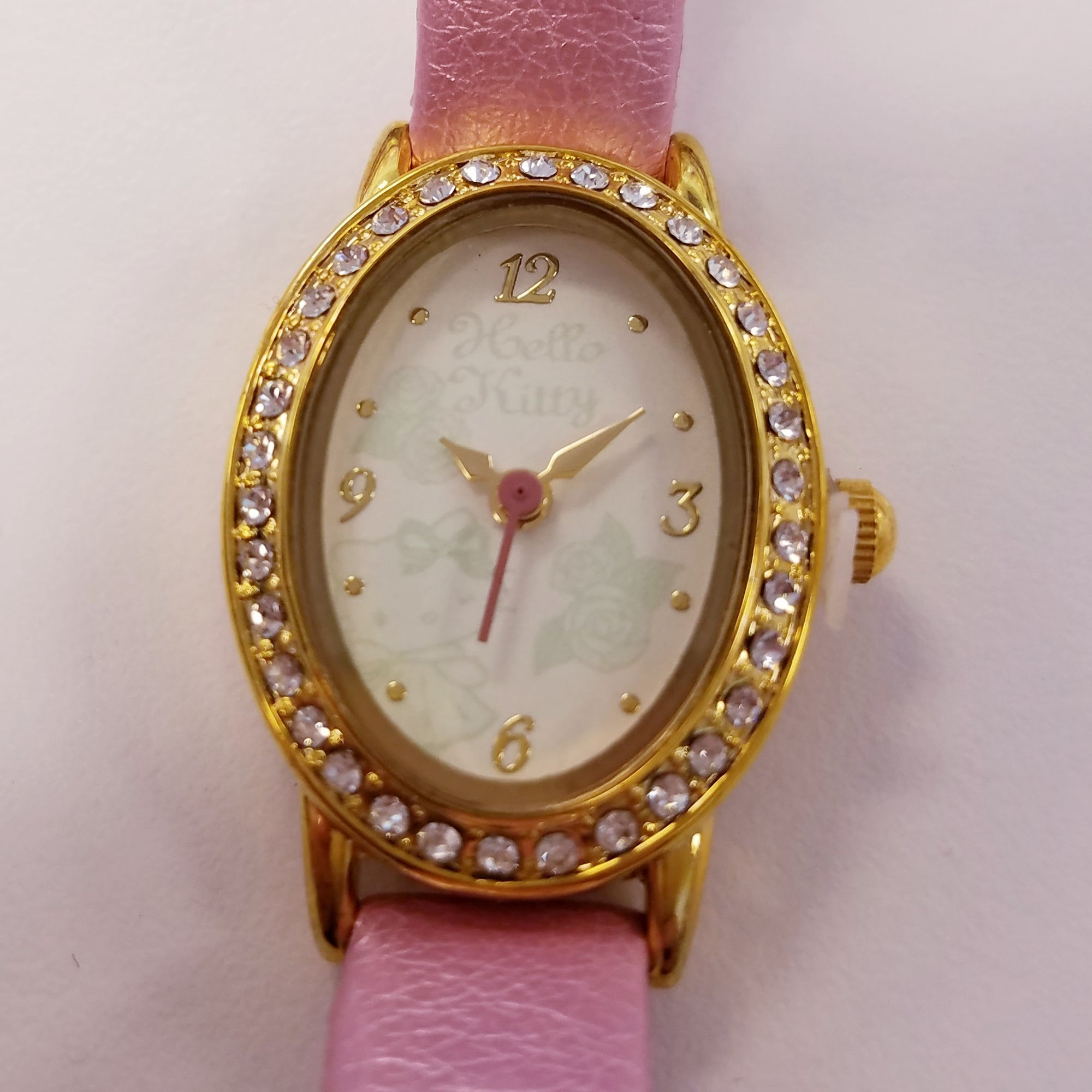 Hello Kitty Pink Gold Watch