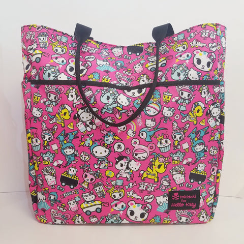 Hello Kitty Tokidoki Pink Shoulder Tote