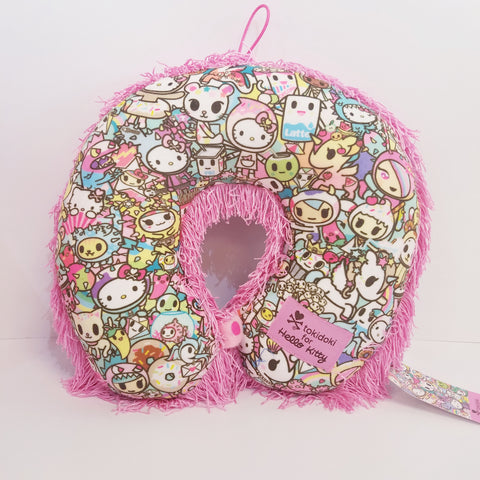 Hello Kitty Tokidoki Pastel Fringe Neck Pillow