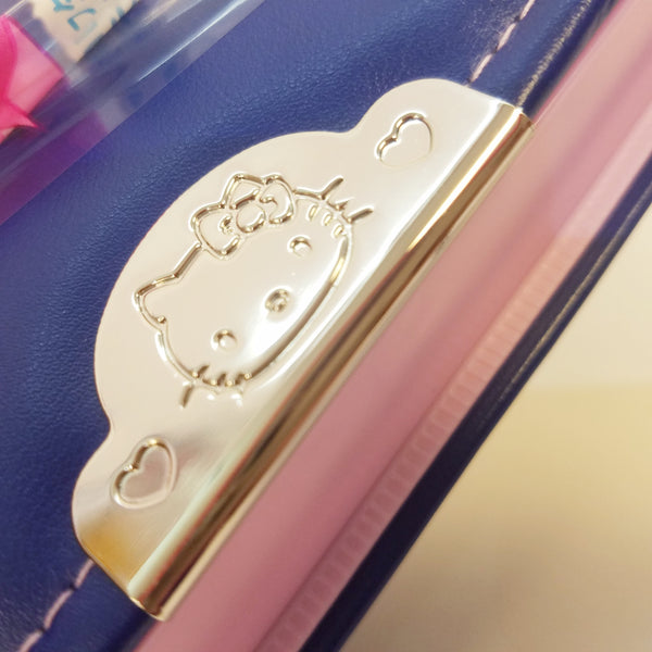Hello Kitty Navy Blue Pencil Case