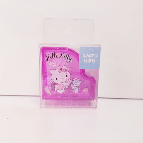 Hello Kitty Piano Pink Sparkle Pencil Sharpener