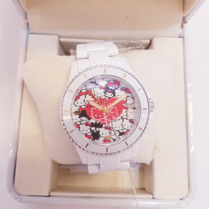 Hello Kitty 40th Anniversary White Watch