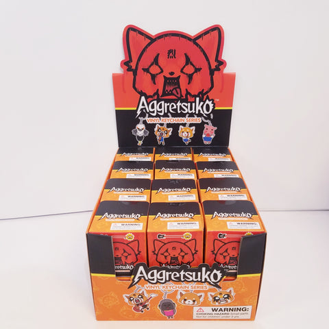 Aggretsuko KidRobot Keychain Blind Box Series