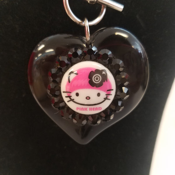 Hello Kitty and Tarina Tarantino Heart Necklace
