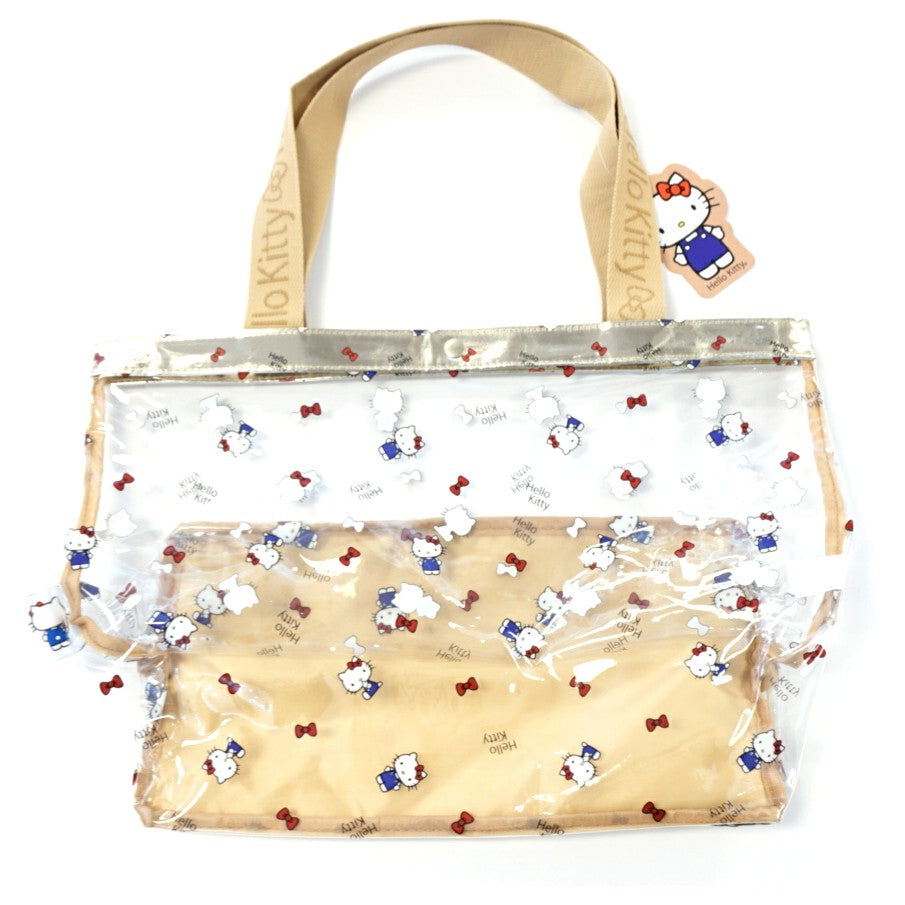 Hello Kitty Slick Vinyl Tote Bag