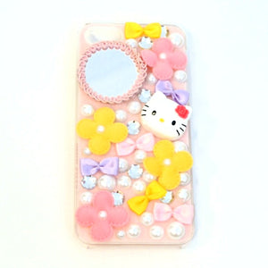 Hello Kitty Flower iPhone 5 Case