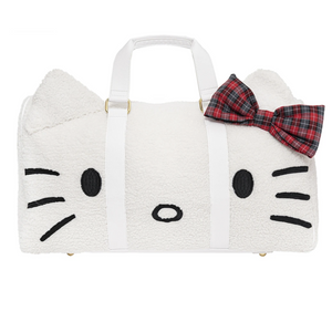 Hello Kitty x Stoney Clover Lane Holiday Cozy Duffle Bag