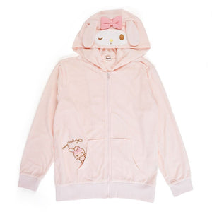 My Melody Terry Zip Up Hooded Jacket