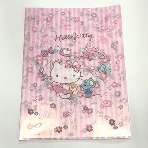 Hello Kitty Pink Letter A4 File Set