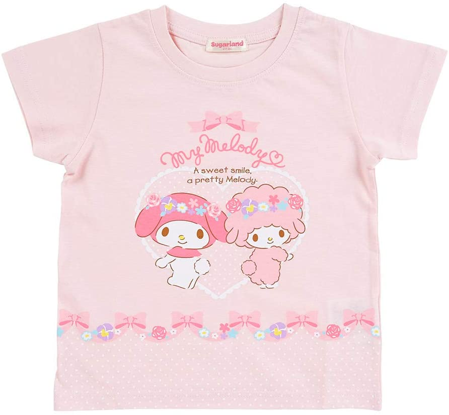 My Melody & Piano Pink Girls Tee by Sugarland