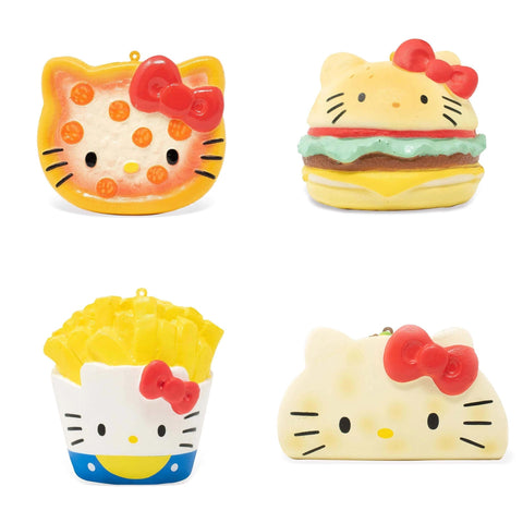 Hello Kitty Fast Food Squishy