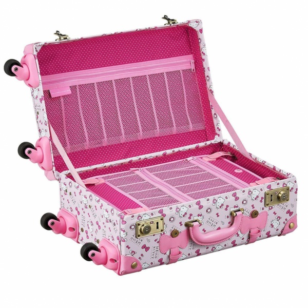Hello Kitty Pink Trunk Suitcase