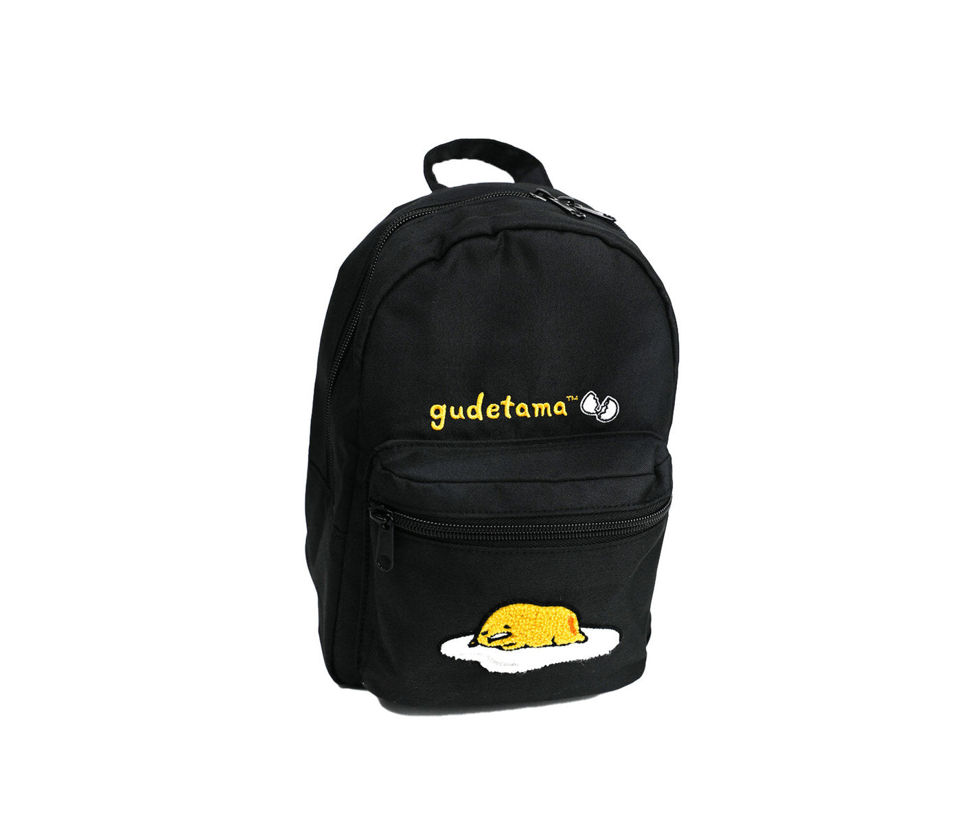Gudetama Black Mini Backpack