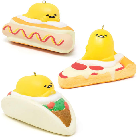 Gudetama Fast Food Squishy