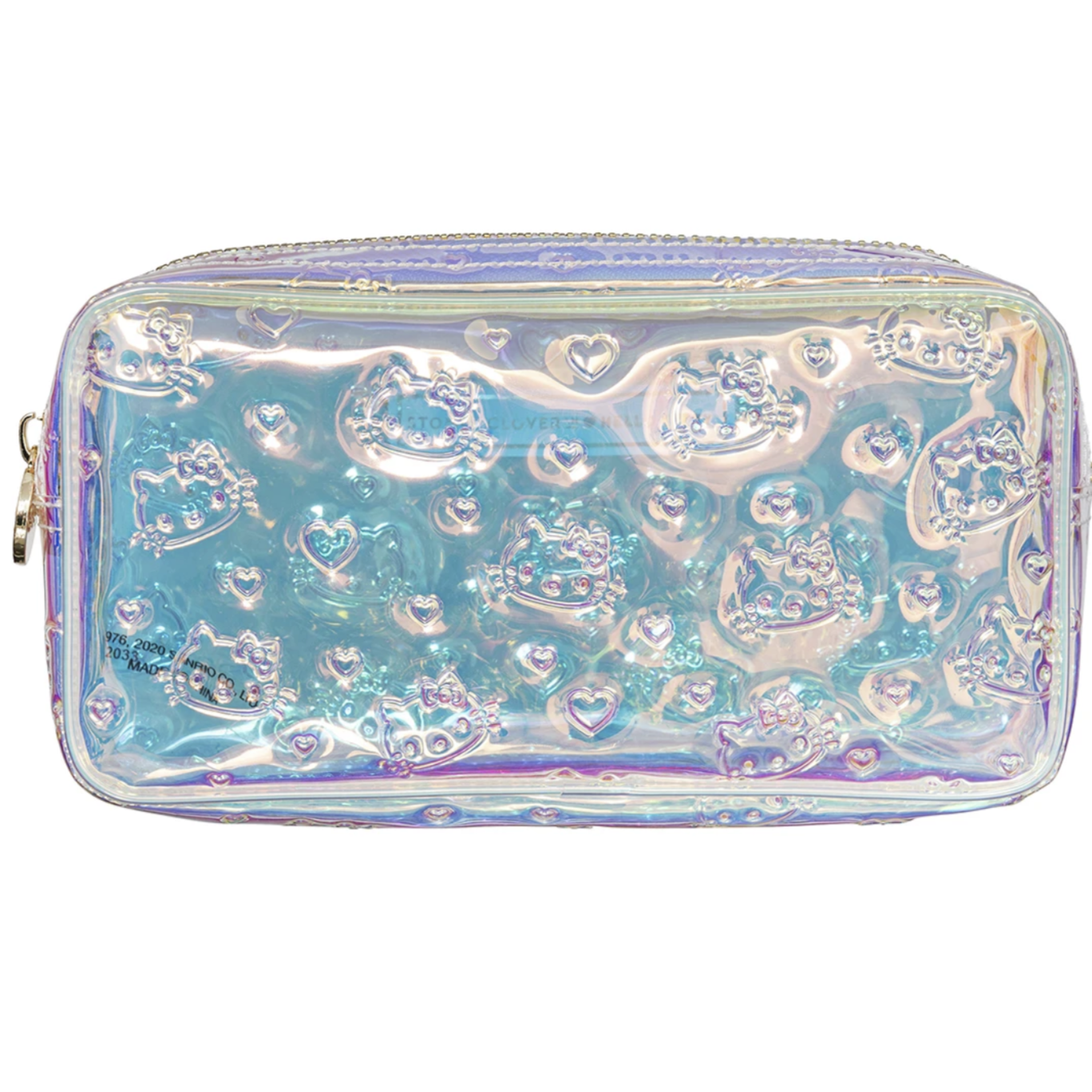 Hello Kitty x Stoney Clover Lane Holiday Iridescent Small Pouch