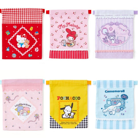 Sanrio Characters Mini Drawstring Bag