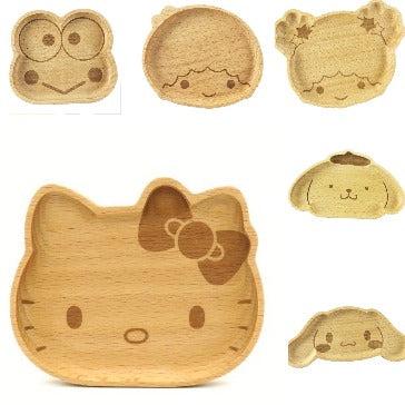 Sanrio Characters Wooden Accessory Tray