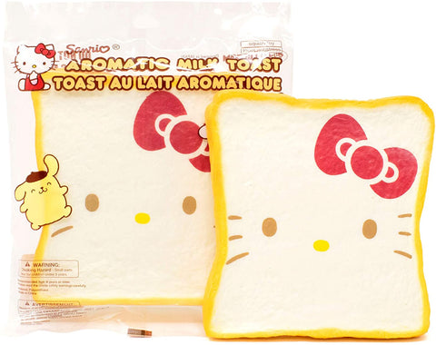Hello Kitty Scented Toast Squishy