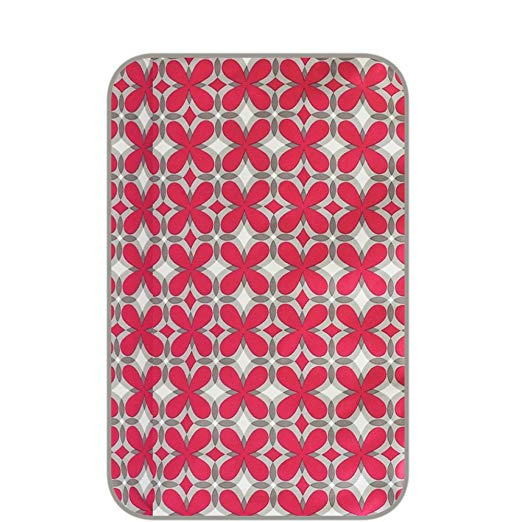 Ju-Ju-Be Pink Pinwheels Changing Pad