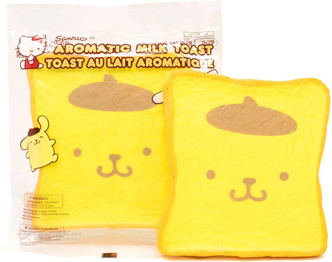 Pompompurin Scented Toast Squishy