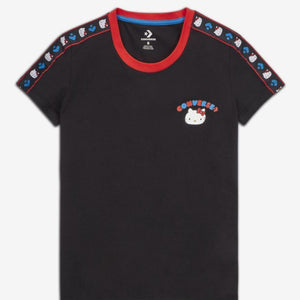 Hello Kitty Converse Black Tee