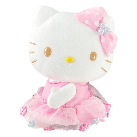 "Hello Kitty Pink Letter 8"" Plush"