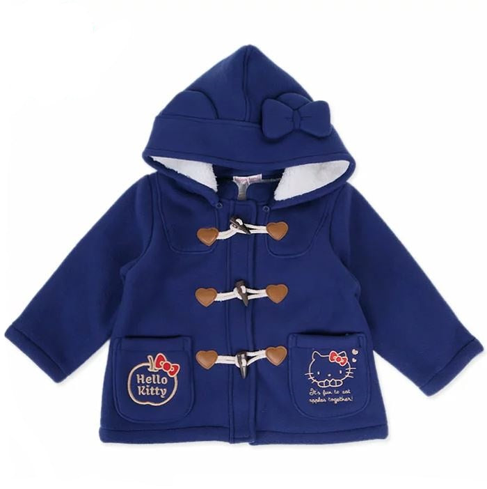 Hello Kitty Navy Kid's Winter Coat