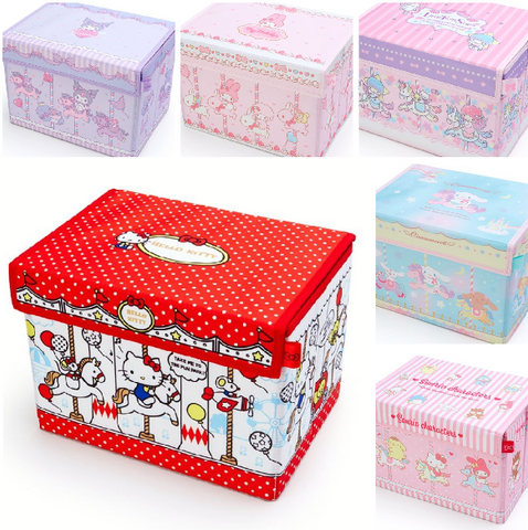 Sanrio Characters Carousel Folding Storage Box