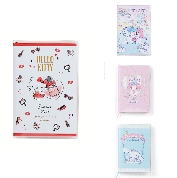 Sanrio Characters Small Datebook 2021