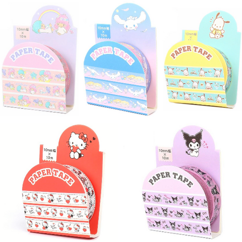 Sanrio Characters Paper Tape - 10mm x 10m