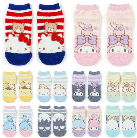 Sanrio Characters Adult Fuzzy Socks