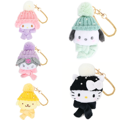 Sanrio Characters Knit Hat Charm