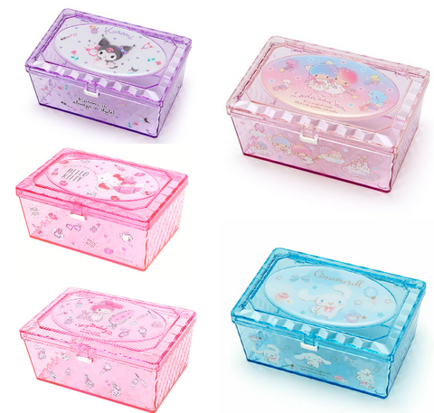 Sanrio Characters Clear Accessory Case