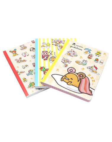 Gudetama x Tokidoki Notebook Set