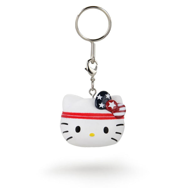 Hello Kitty x Team USA Kidrobot Keychain
