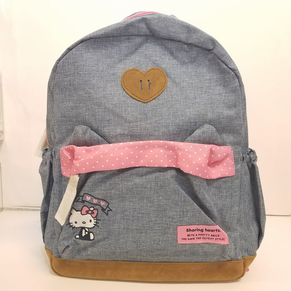 Hello Kitty Ears Large Backpack