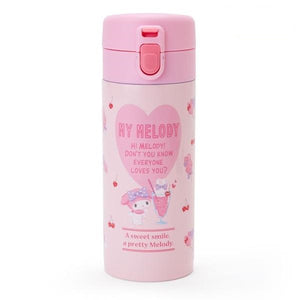 My Melody Flip-Top Stainless Steel Bottle