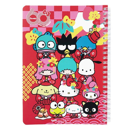 Sanrio 60th Anniversary A5 Notebook