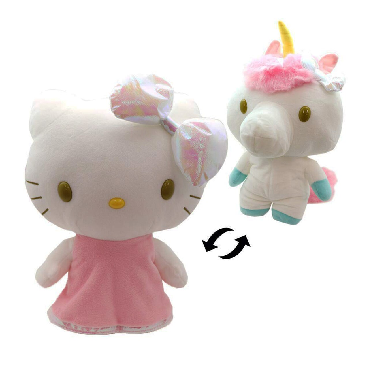 Hello Kitty Reversible Unicorn Plush
