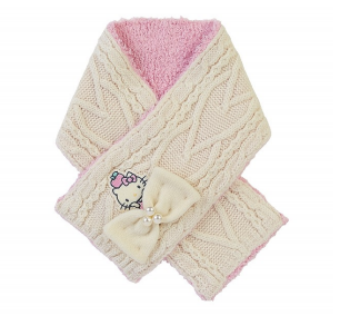 Sanrio Characters Cable Knit Winter Scarf