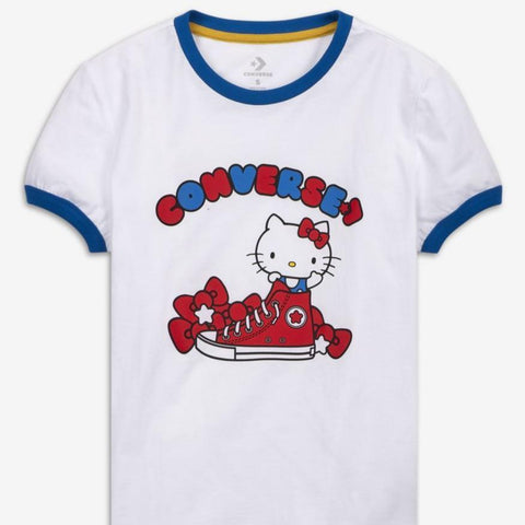 Hello Kitty Converse White Converse Tee