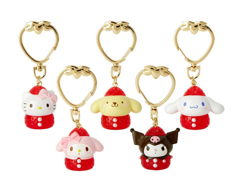 Sanrio Characters Strawberry Keychain