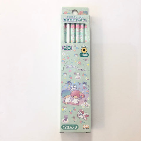 Little Twin Stars 12 Pieces 2B Pencil Set