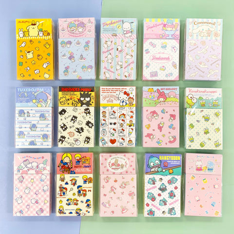 Sanrio Characters Memo & Stickers Set